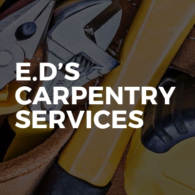 E.D's Carpentry services