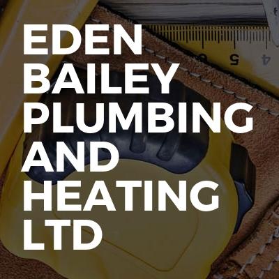Eden bailey plumbing and heating ltd