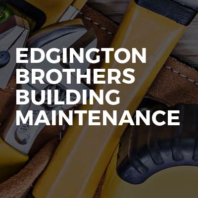 Edgington brothers building maintenance