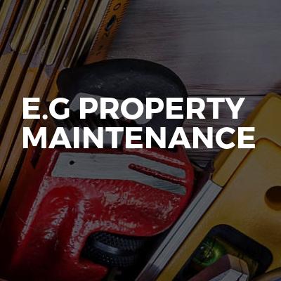 E.G PROPERTY MAINTENANCE