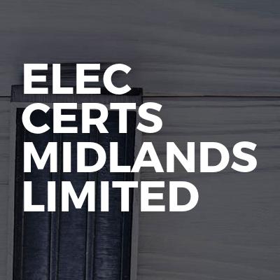 elec certs Midlands limited