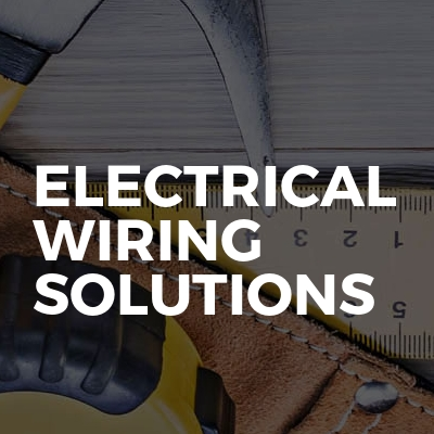 Electrical wiring solutions