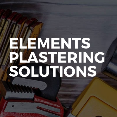 Elements Plastering Solutions