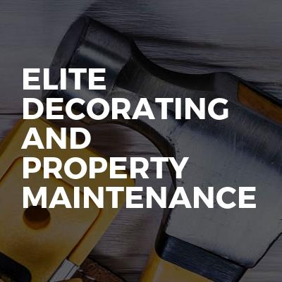 Elite Decorating And Property Maintenance