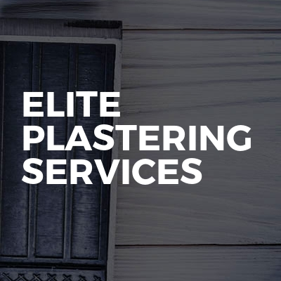 Elite plastering services