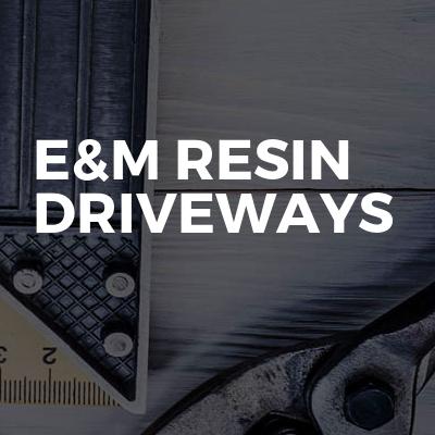 E&M resin driveways