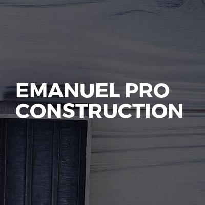 Emanuel Pro Construction