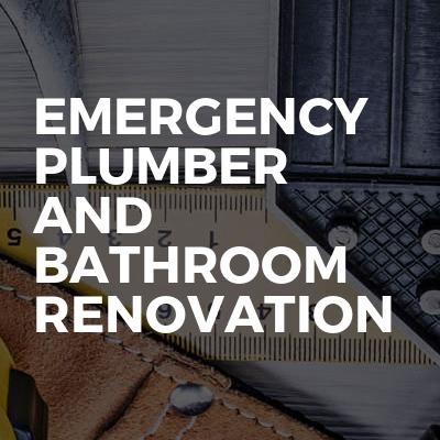 Emergency Plumber And Bathroom Renovation