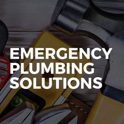 Emergency Plumbing Solutions
