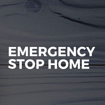 Emergency stop home