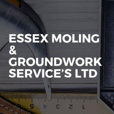 Essex Moling & Groundwork Service's Ltd