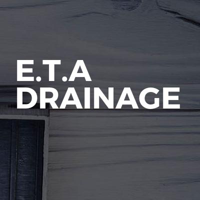 E.T.A Drainage
