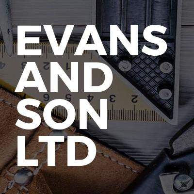 Evans And Son Ltd
