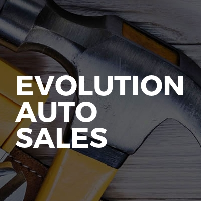 Evolution auto sales