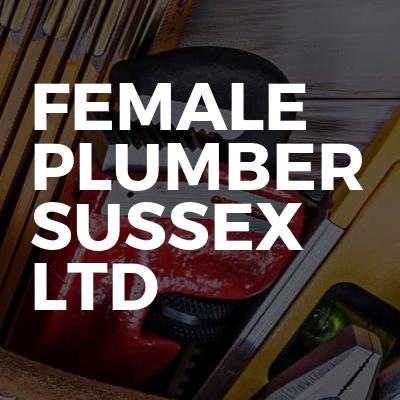 Female Plumber Sussex Ltd