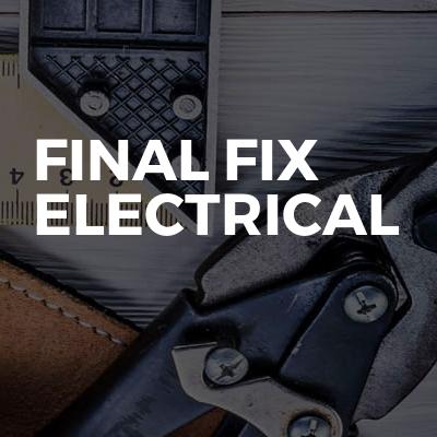 Final fix electrical