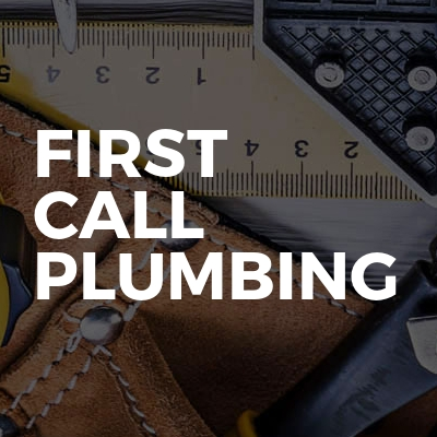 First Call Plumbing