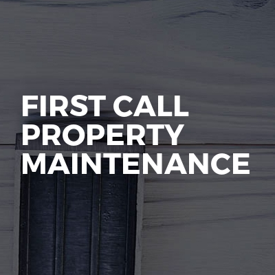 First Call Property Maintenance