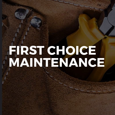 First Choice Maintenance