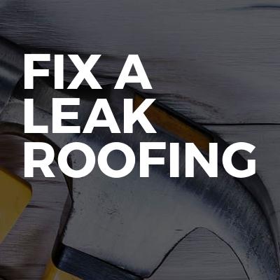 Fix a leak roofing