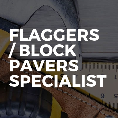 Flaggers / Block Pavers Specialist