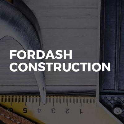 Fordash Construction