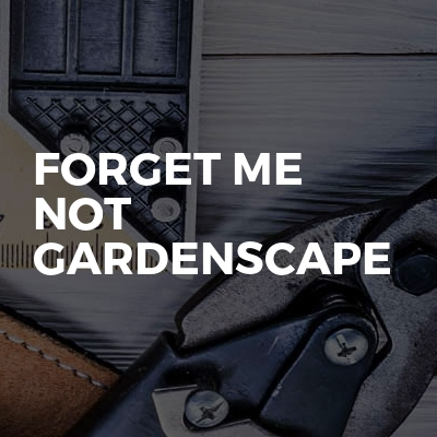 Forget Me Not Gardenscape