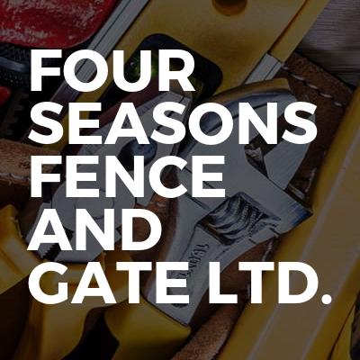 Four Seasons Fence and Gate Ltd.
