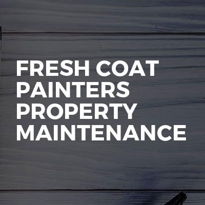 Fresh Coat Painters Property Maintenance