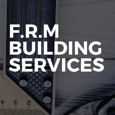 F.R.M Building Services