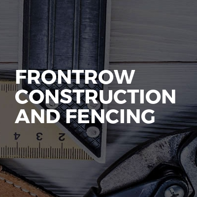 Frontrow Construction And Fencing
