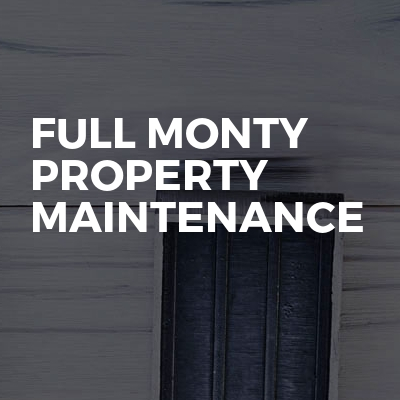 Full Monty Property Maintenance