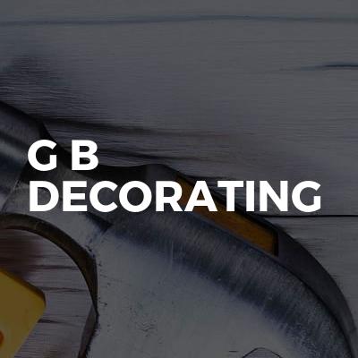 G B Decorating