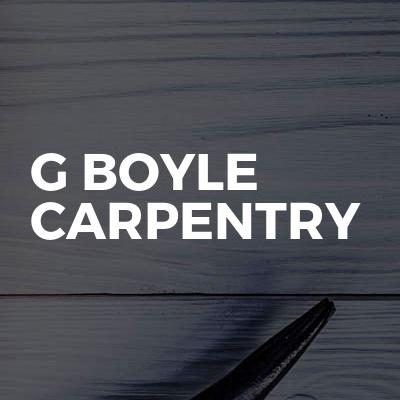 G Boyle Carpentry