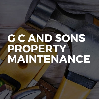 G C And Sons Property Maintenance