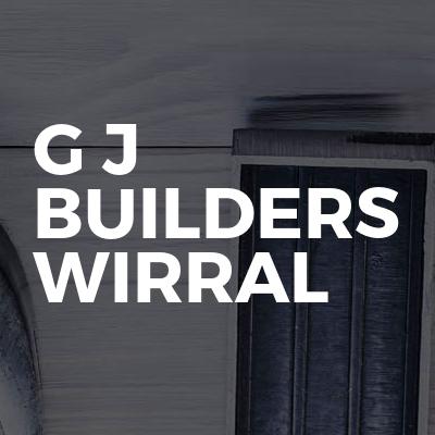 G J Builders Wirral
