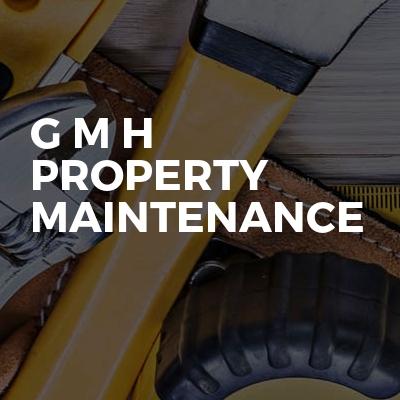 G M H property maintenance