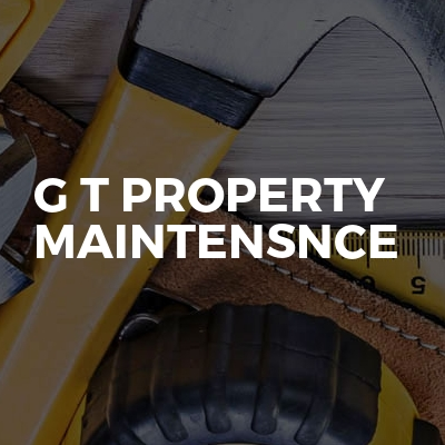 G t property maintensnce