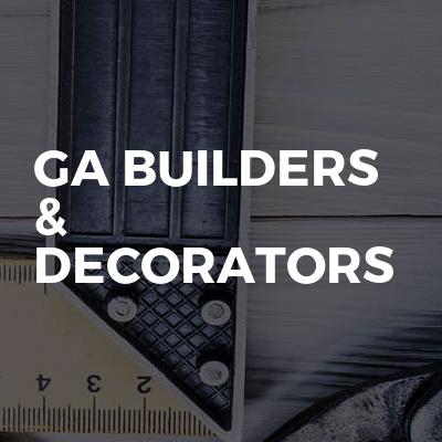 GA Builders & Decorators