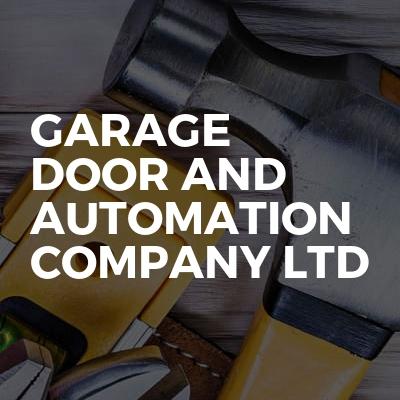 Garage door and automation company ltd