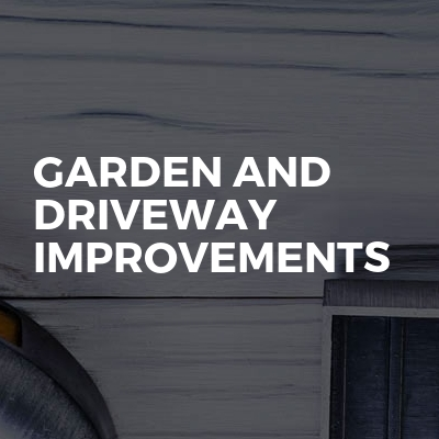 Garden And Driveway Improvements