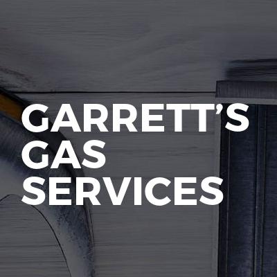 Garrett's Gas Services