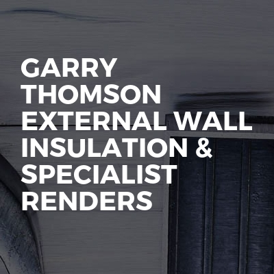 Garry Thomson external wall insulation & specialist renders