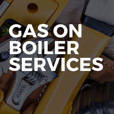 Gas On Boiler Services