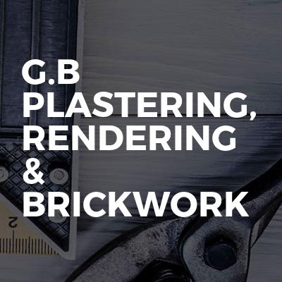 G.B Plastering, Rendering & Brickwork