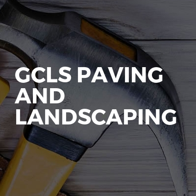 GCLS paving and landscaping