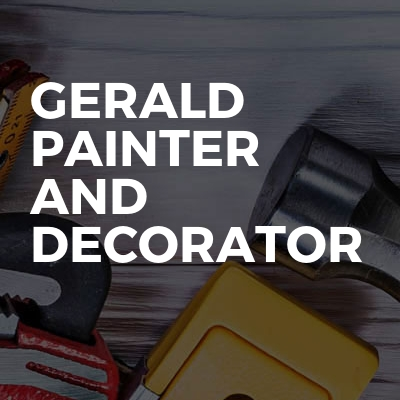 Gerald painter and decorator