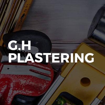 G.H Plastering