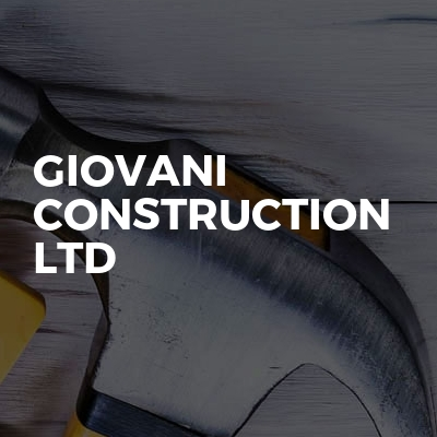 Giovani Construction Ltd