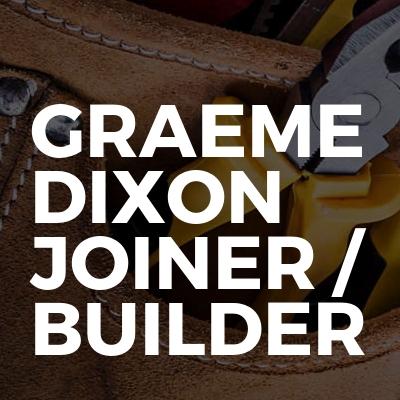 Graeme Dixon Joiner / Builder